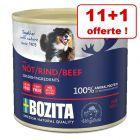 Bozita Paté pour chien 11 x 625 g + 1 boîte offerte !