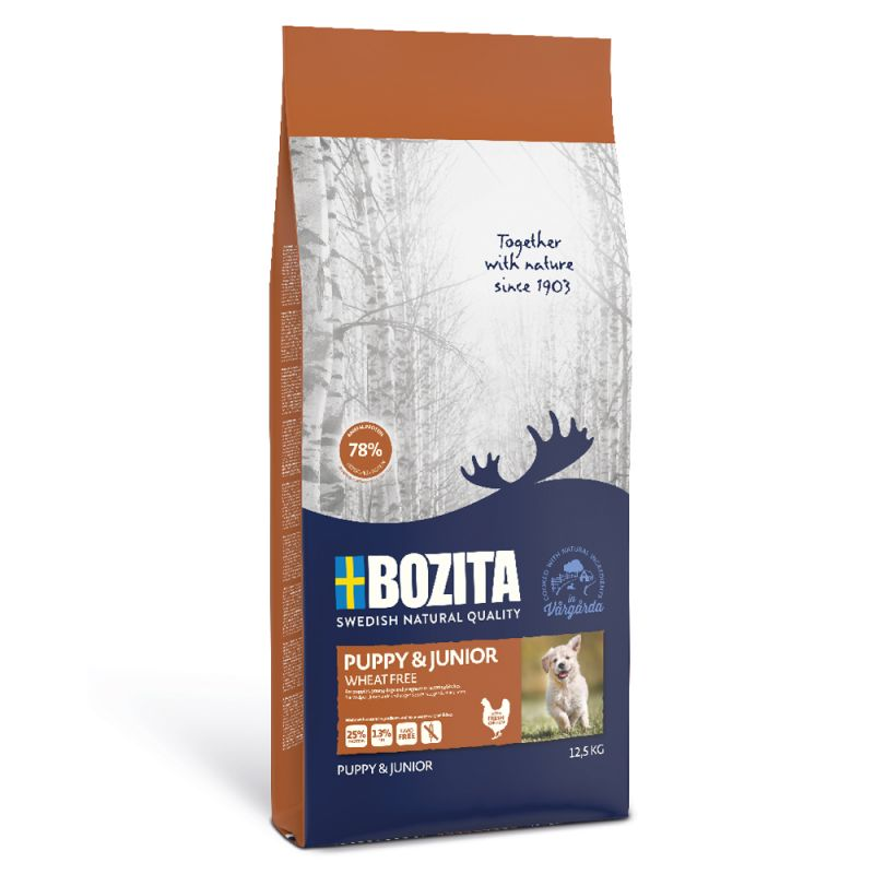 Bozita Puppy & Junior Wheat-Free