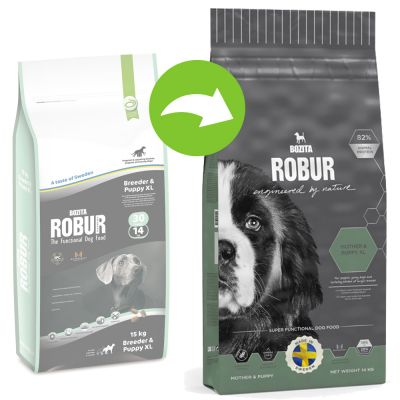 Bozita Robur Mother & Puppy XL  (Nieuwe Receptuur) Hondenvoer