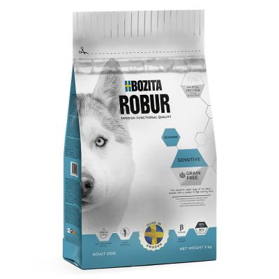 Bozita Robur Sensitive Grainfree  -  con carne di renna