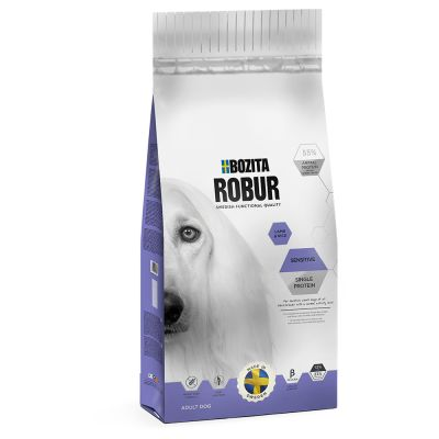 Bozita Robur Sensitive Single Protein com cordeiro e arroz