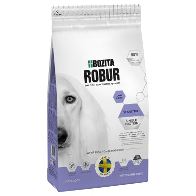 Bozita Robur Sensitive Single Protein Lam & Rijst