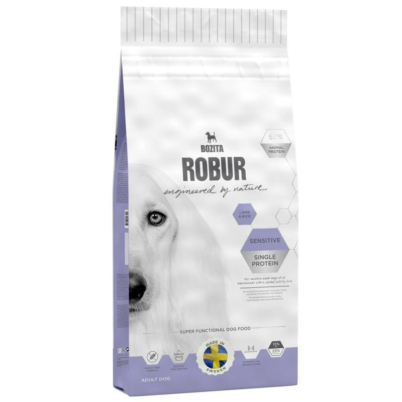 Bozita Robur Sensitive Single Protein Lamm & ris
