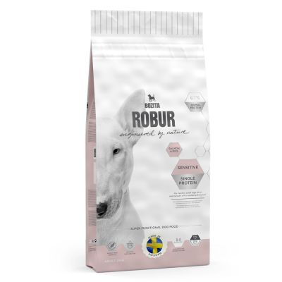 Bozita Robur Sensitive Single Protein Zalm & Rijst Hondenvoer