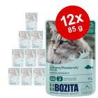 Bozita Stukjes in Gelei Pouch 12 x 85 g Kattenvoer
