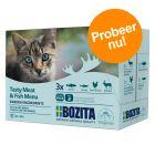 Bozita Stukjes in Saus als Mixpakket 12 x 85 g Kattenvoer