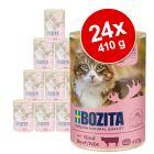 Bozita-purkkiruoka säästöpakkaus: 24 x 410 g
