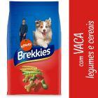 Brekkies com vaca, vegetais e cereais para cães