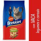 Brekkies com vaca, vegetais e cereais para gatos