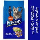 Brekkies Complet Selección de aves y pescados, verduras y cereales para gatos