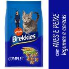 Brekkies Complet Seleção de aves e peixe, vegetais e cereais para gatos