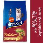 Brekkies Delicious poulet, dinde et légumes pour chat