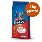 Brekkies 12 / 15 kg pienso para gatos en oferta: hasta 4 kg ¡gratis!