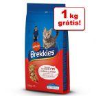 Brekkies ração 15 kg em promoção: 14 kg + 1 kg grátis!