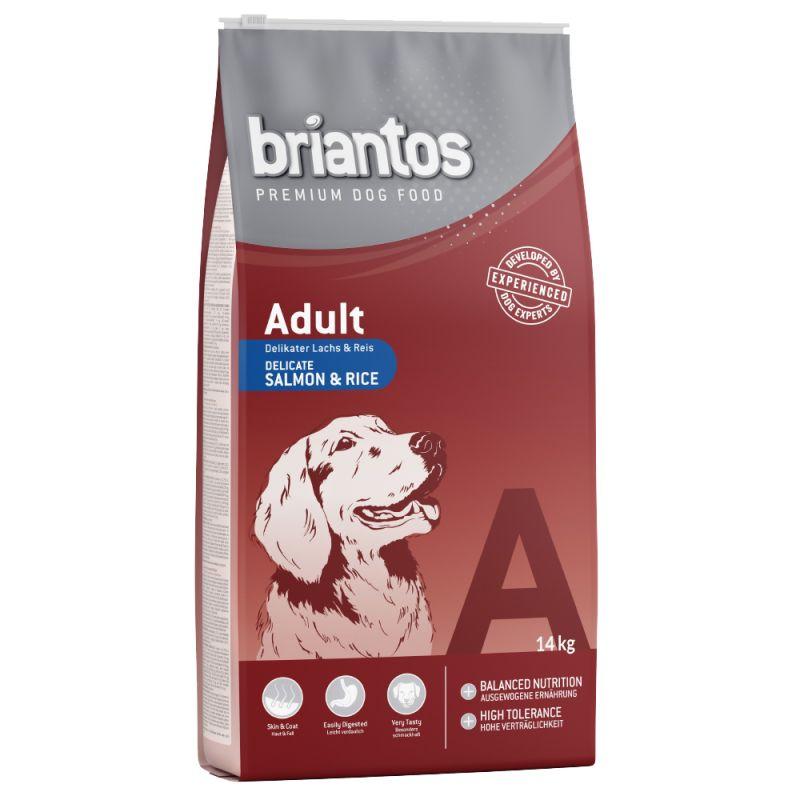 Briantos Adult saumon, riz pour chien