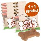 Briantos DogBiski 5 x 90 g snacks en oferta: 4 + 1 ¡gratis!