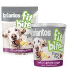 Briantos FitBites snacks con cordero, patatas y manzanas para perros