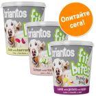 Пробна опаковка лакомства Briantos FitBites 3 x 150 г
