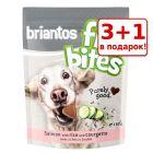 "3 + 1 в подарок! Лакомства Briantos ""FitBites"", 4 x 150 г"