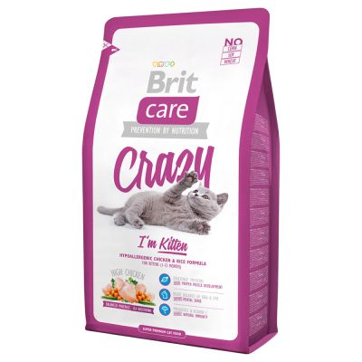 Brit Care Cat Crazy I'm Kitten pour chaton