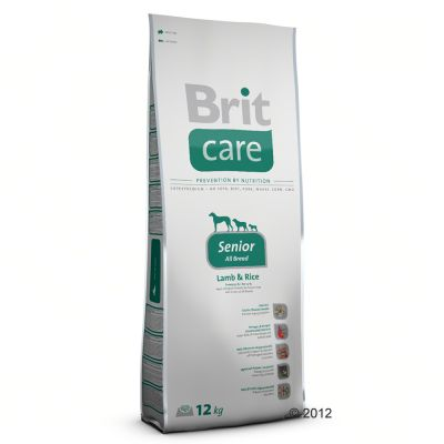 Brit Care Senior All Breed agneau, riz pour chien