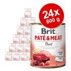Brit Paté & Meat Adult gazdaságos csomag 24 x 800 g