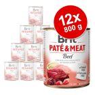 Brit Paté & Meat Adult gazdaságos csomag 12 x 800 g