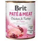 Brit Paté & Meat Puppy 6 x 800 g