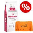 Brit Premium by Nature / Brit Care + KING Kocyk Kingsday, pomarańczowy w super cenie!
