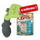 Brosse FURminator + 35 bâtonnets 8in1 Delights Pro Dental pour chien offerts !