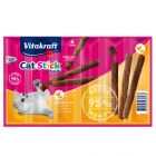 Bâtonnets à mâcher Vitakraft Cat Stick Mini, volaille & foie