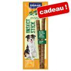 Bâtonnets Vitakraft Insect 4 x 12 g pour chien en cadeau !