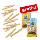 100 buc Barkoo Rulouri de ros împletite natur +  Barkoo Snacks gratis!