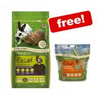 Burgess Excel Small Pet Food + 1kg Hay Free!*