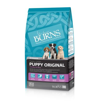 Burns Puppy/Junior Original Kip & Rijst Hondenvoer