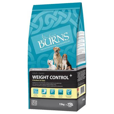 Burns Adult & Senior Weight Control+ Chicken & Oats