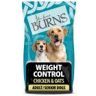 Burns Adult & Senior Weight Control+ - Chicken & Oats