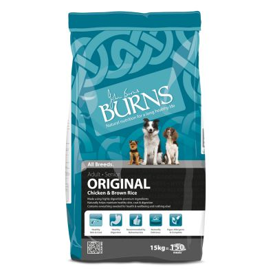 Burns Chicken & Brown Rice - Adult & Senior Original
