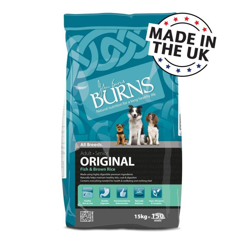 Burns Fish & Brown Rice - Adult & Senior Original