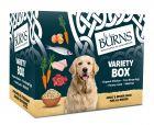 Burns Variety Box Wet Dog Food 6 x 395g