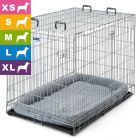 Cage de transport et d'intérieur Dog Residence