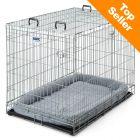 Cage de transport et d'intérieur Savic Dog Residence avec coussin pour chien