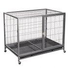 Cage d'intérieur pour chien Tabby L