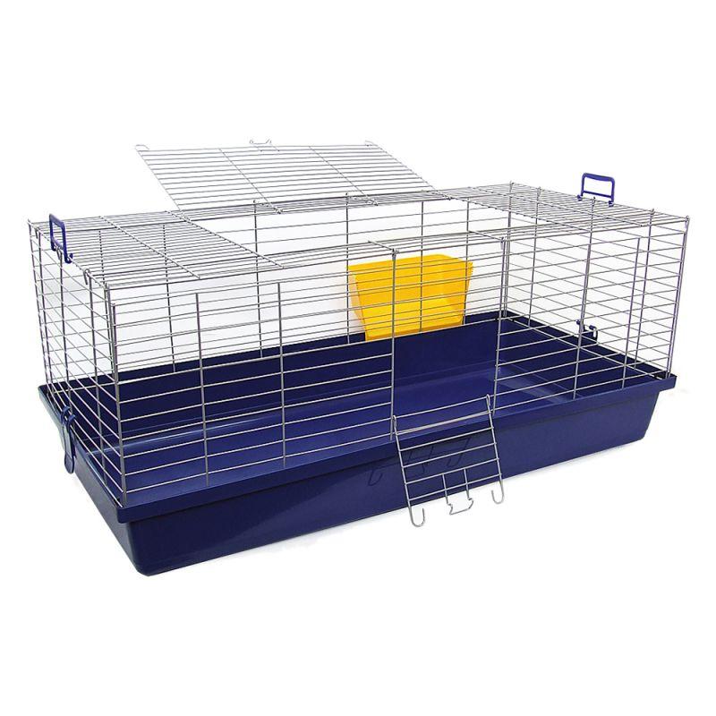 Cage Skyline Maxi XXL pour lapin et cochon d'Inde