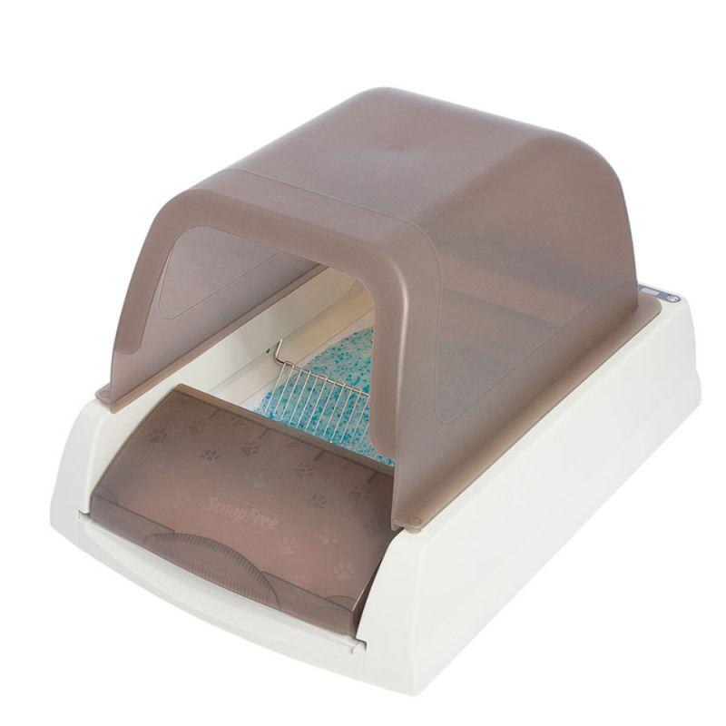 Caixa de areia auto-lavável ScoopFree para gatos