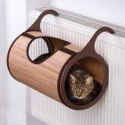 Cama para radiador Natural Retreat para gatos