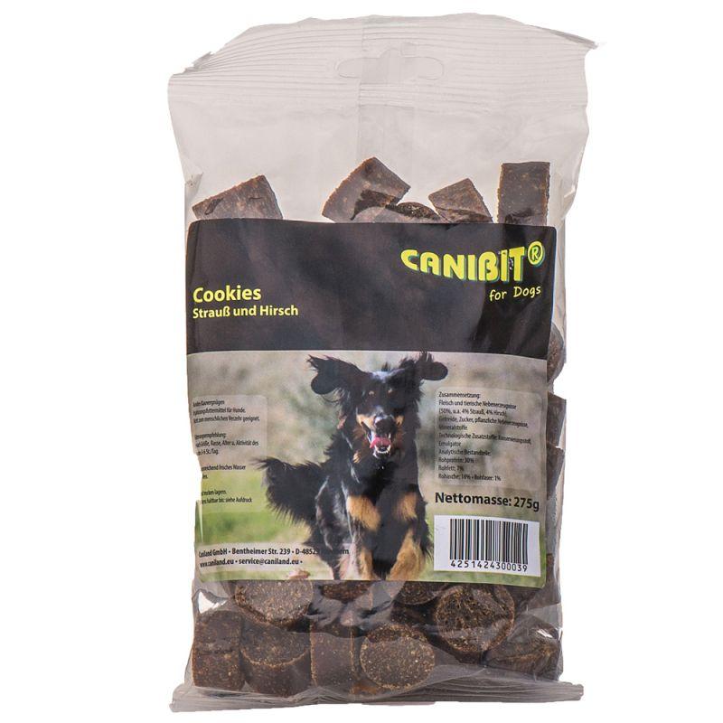 CANIBIT-strutsin- ja peuranlihakeksit