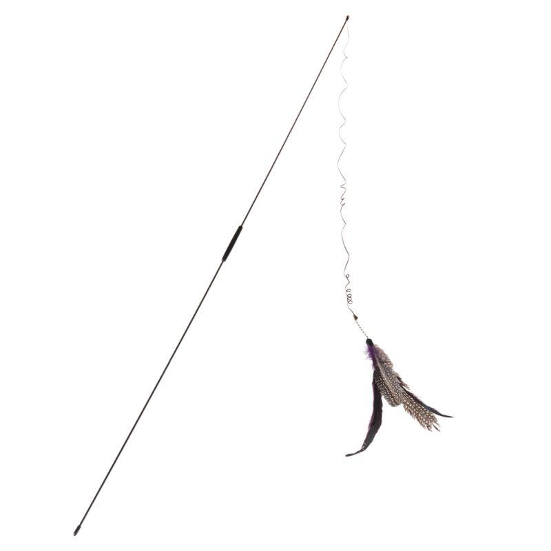 Canne à pêche pour chat Bird