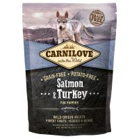Carnilove Puppy Salmon and Turkey, łosoś i indyk