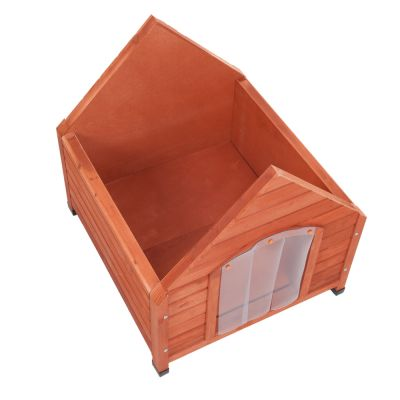 Caseta de madera Spike All Seasons para perros